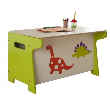 Dinosaur Toy Box and Desk - Millhouse