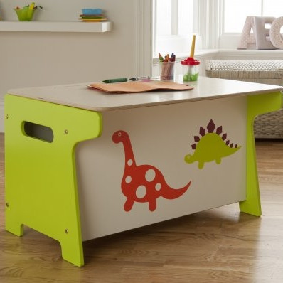Dinosaur Toy Box Millhouse Childrens Toy Boxes