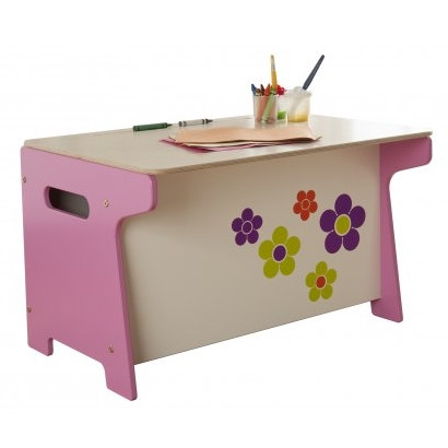Flower Toy Box and Desk - Millhouse