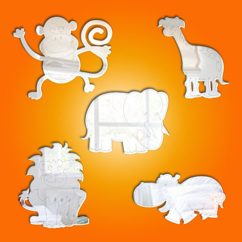 Jungle Animals Mirrors Bundle