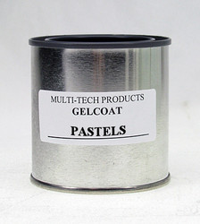 Gelcoat Resin - Standard Pastels