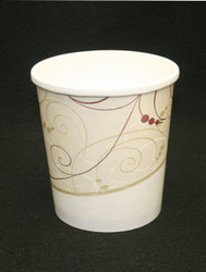 Disposable Paper Cups 1 Quart Small Case Pack