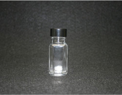 .5 oz With Lid French Square Glass Bottle