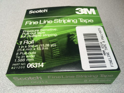 Flat Fine Line Striping Tape 8 Pull Out Roll