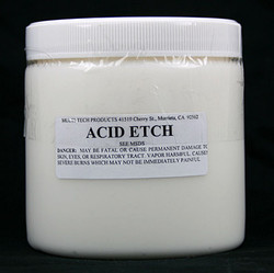 Acid Etch for Porcelain Repair