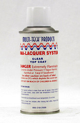 MMA Acrylic Clear Top Coat Aerosol