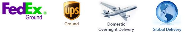 UPS, FedEx