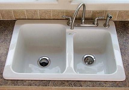 Steel/Porcelain Sink