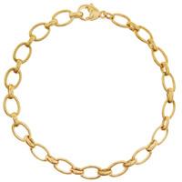 """""""Belle"""" 14k Gold Charm Bracelet"""