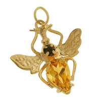 Bee 14k Gold Charm