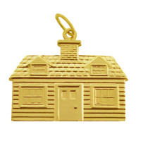 """The """"House Of"""" 14k Gold Charm"""