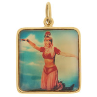 "Vintage ""I Dream of Jeannie"" 14k Gold Charm"