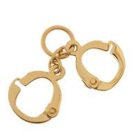 Handcuffs 14k Gold Charm
