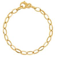"""Mia"" 14k Gold Charm Bracelet"