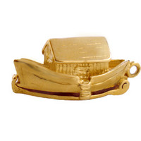 Noah's Ark 14K Gold Movable Charm