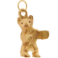 Little Bear 14k Gold Charm