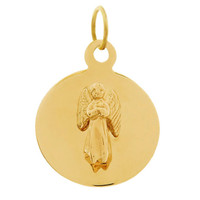Little Guardian Angel 14K Gold Charm