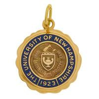Vintage University Of New Hampshire 14k Gold Charm