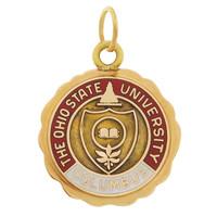 Vintage Ohio State University 14k Gold Charm