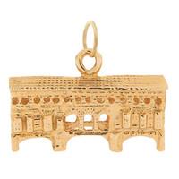 Large Ponte Vecchio 14K Gold Charm