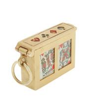 Vintage Deck Of Cards 14k Gold Charm