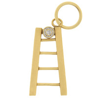 Vintage Jacob's Ladder 14k Gold Charm