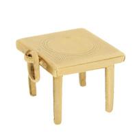 Vintage Table 14K Gold Disc Charm