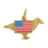 Vintage American Eagle 14k Gold Charm