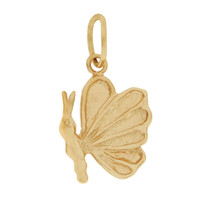 Little Butterfly 14k Gold Charm