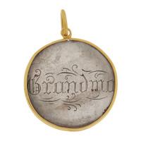 "Vintage Love Coin ""Grandma"" 14k Gold Charm"