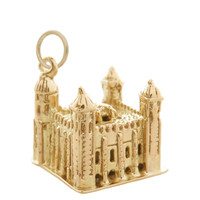 Vintage Tower of London 9k Gold Charm