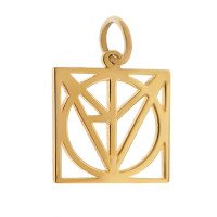 Love Puzzle 14K Gold Charm
