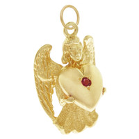 Vintage Dankner Angel 14k Gold Charm