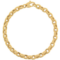 """Caroline"" 14k Gold Charm Bracelet"