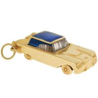 Vintage Thunderbird 14k Gold Charm
