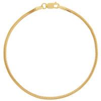 Vintage Snake Chain 14k Gold Bracelet