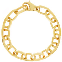 """Lindsay"" 14k Gold Charm Bracelet"