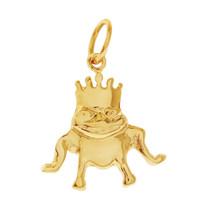 Frog Prince 14k Gold Charm