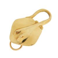 Vintage Stingray 14k Gold Charm