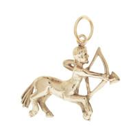 Vintage Sagittarius Centaur 14k Gold Charm