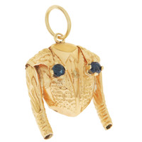 Vintage Mariachi Jacket 14k Gold Charm