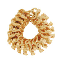 Vintage Movable Flower Lei 14K Gold Charm