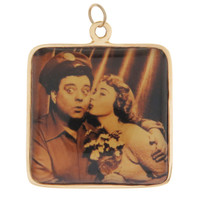 Vintage 'The Honeymooners' 14K Gold Charm