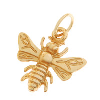 Bumble Bee 14K Gold Charm