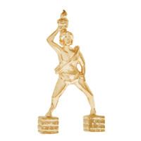 Colossus of Rhodes 14K Gold Charm