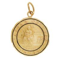 Vintage Vassar College 14K Gold Charm