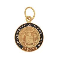 Vintage University of Maryland 10K Gold Charm