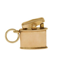 Vintage Lighter 10k Gold Charm