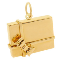 Gift Box 14K Gold Charm