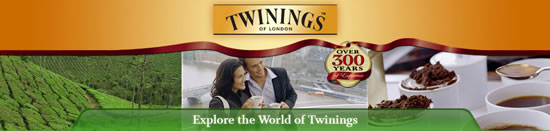 Twinings Black teas banner